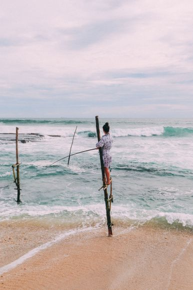 The Ancient Tradition Of Stilt Fishing… In Sri Lanka (27)