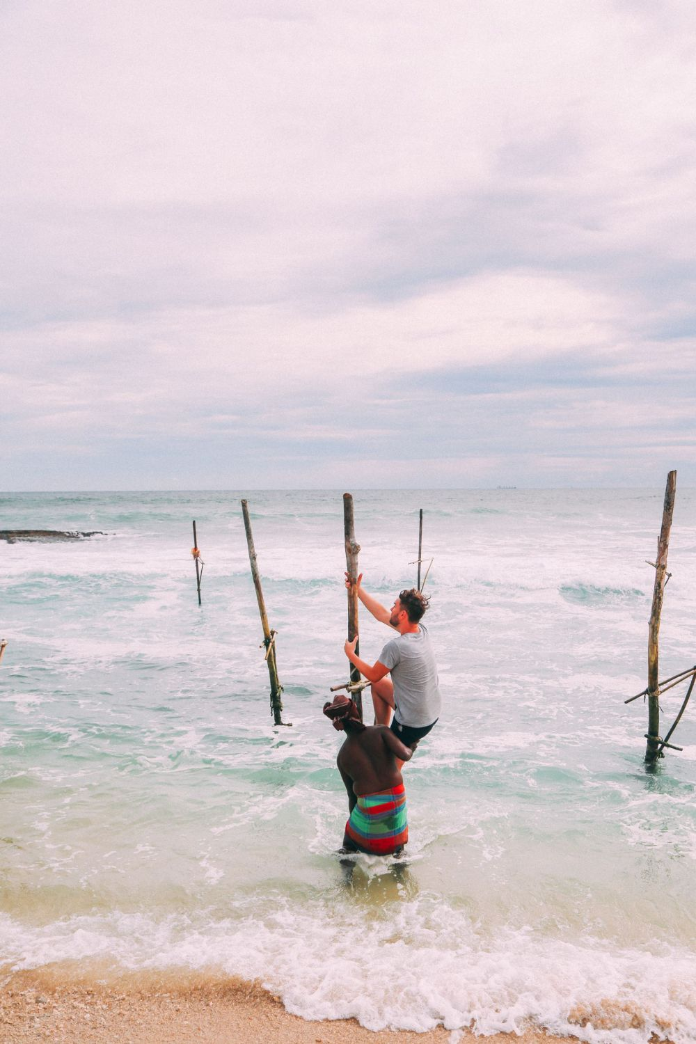 The Ancient Tradition Of Stilt Fishing… In Sri Lanka (30)