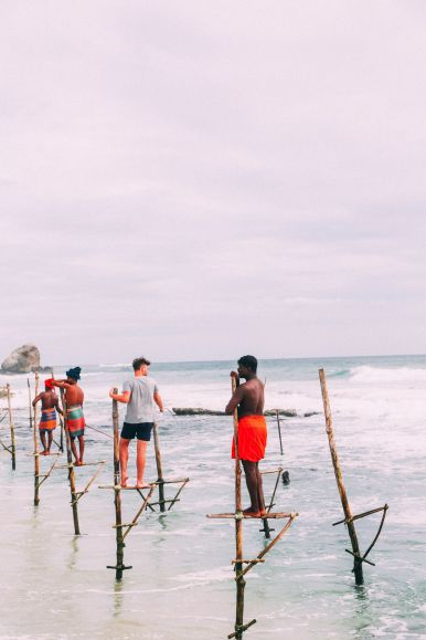 The Ancient Tradition Of Stilt Fishing… In Sri Lanka (33)