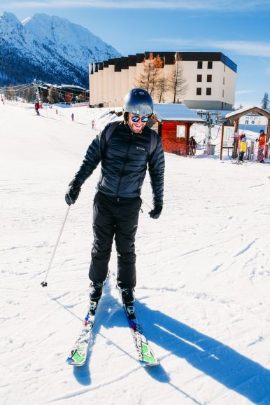Skiing In The French Alps... (2)