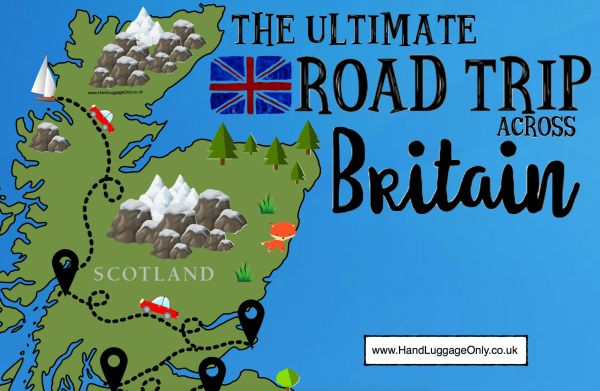 The Ultimate Road Trip Map of 26 Places To See Across