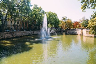The Beautiful Roman City Of Nimes... In France (39)