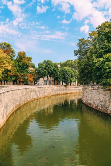 The Beautiful Roman City Of Nimes... In France (92)