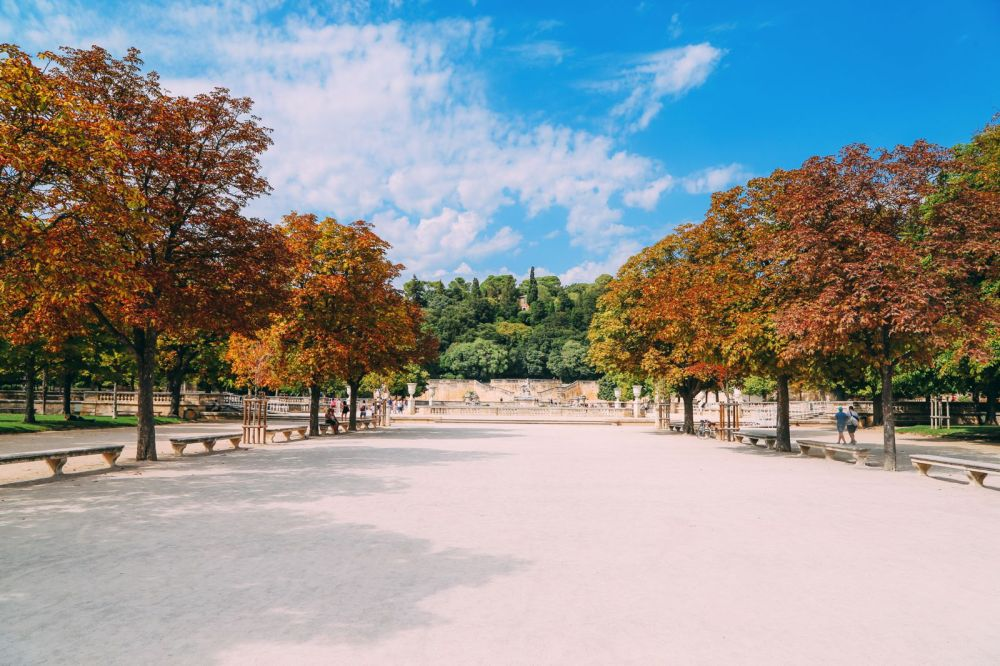 The Beautiful Roman City Of Nimes... In France (95)