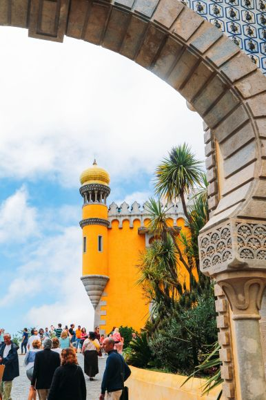 The Beautiful Pena Palace Of Sintra, Portugal (2)