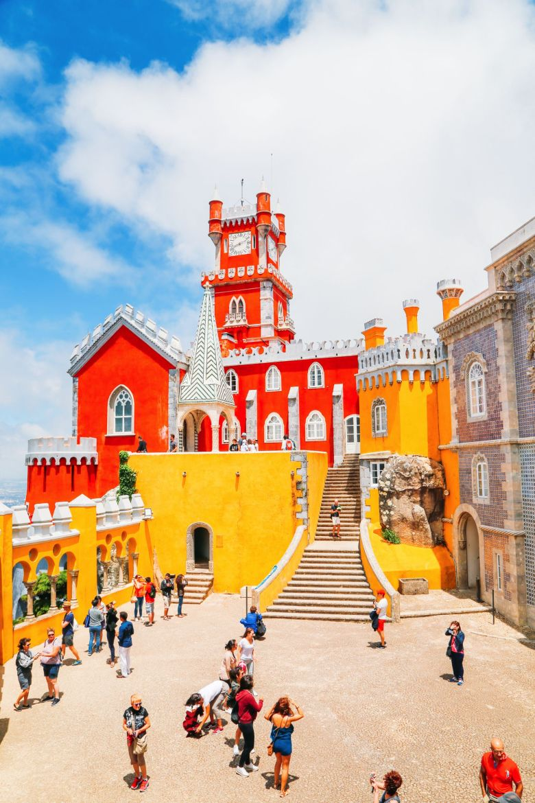 The Beautiful Pena Palace Of Sintra, Portugal (41)