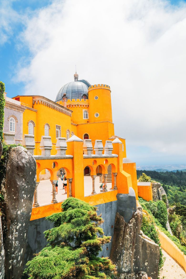 The Beautiful Pena Palace Of Sintra, Portugal (49)