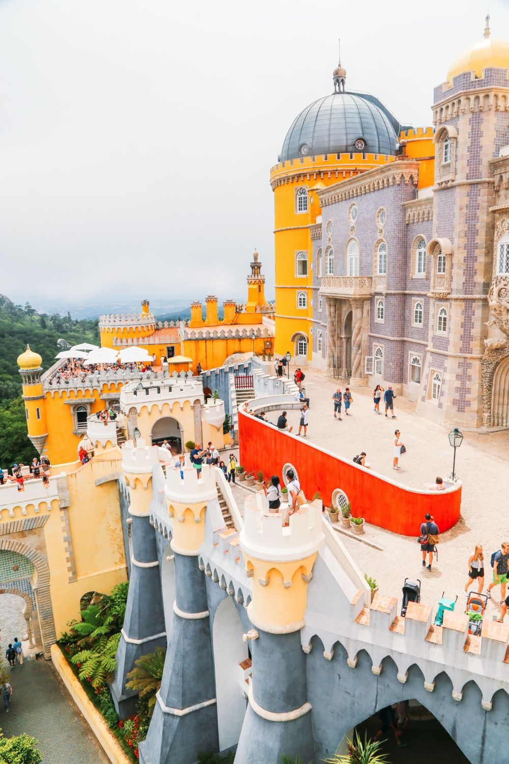 The Beautiful Pena Palace Of Sintra, Portugal (60)