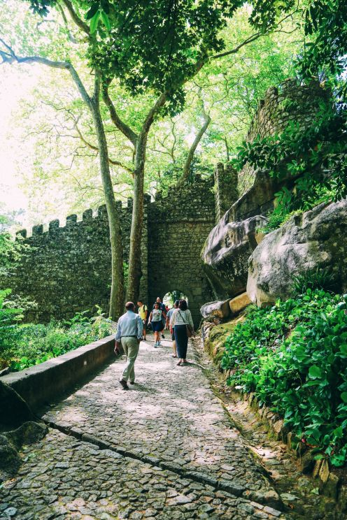 The Moorish Castle, Palace of Sintra And Pena Park – 3 Beautiful Places To See In Sintra, Portugal (3)