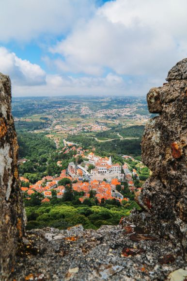 The Moorish Castle, Palace of Sintra And Pena Park – 3 Beautiful Places To See In Sintra, Portugal (10)