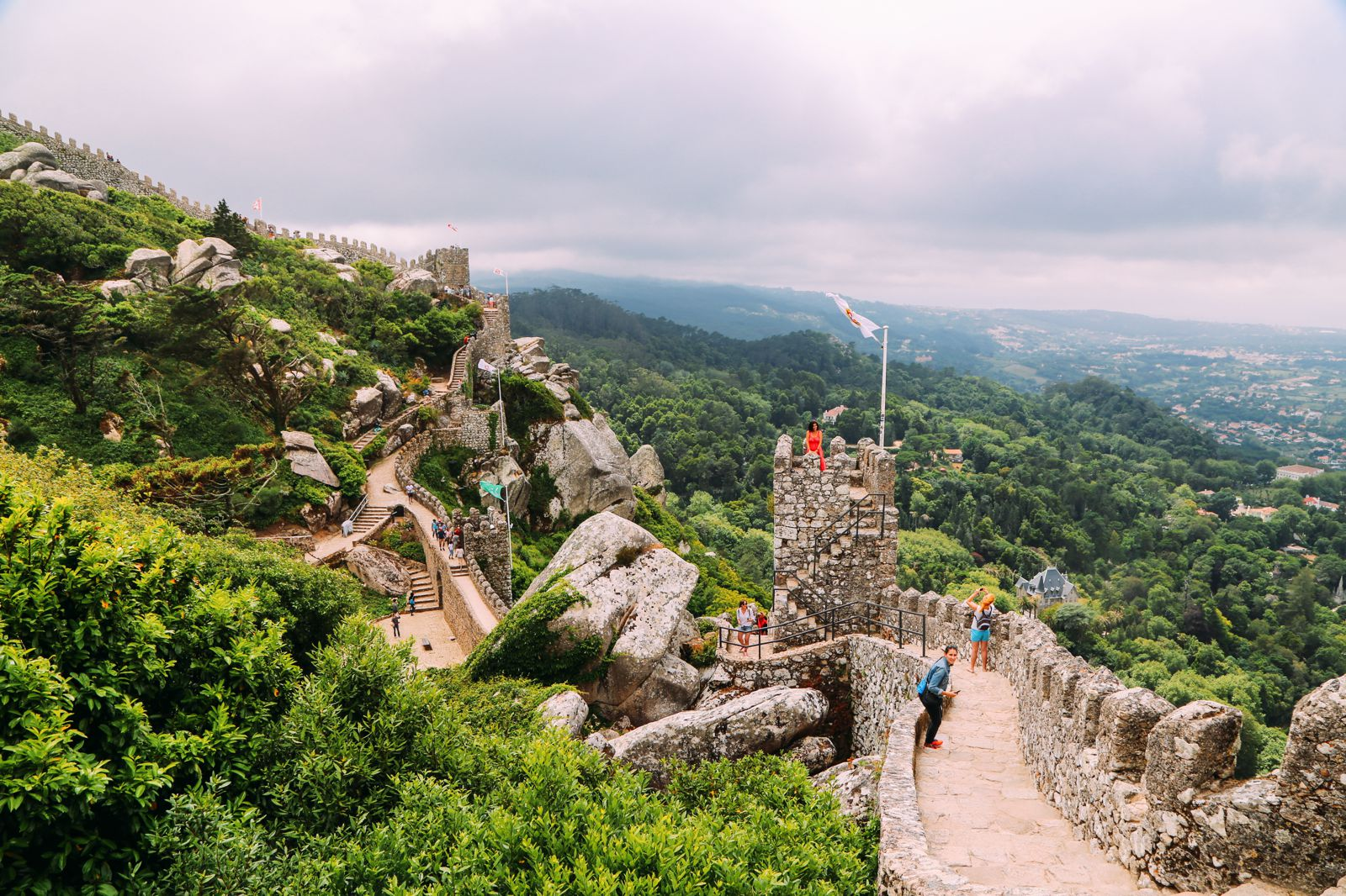 The Moorish Castle, Palace of Sintra And Pena Park – 3 Beautiful Places To See In Sintra, Portugal (12)