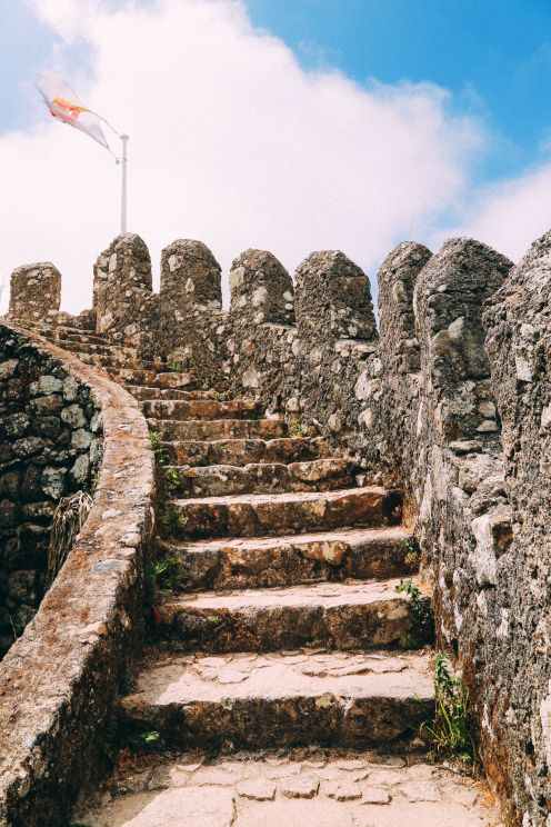 The Moorish Castle, Palace of Sintra And Pena Park – 3 Beautiful Places To See In Sintra, Portugal (13)