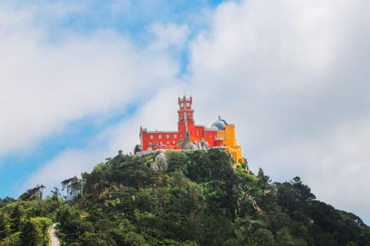 The Moorish Castle, Palace of Sintra And Pena Park – 3 Beautiful Places To See In Sintra, Portugal (18)