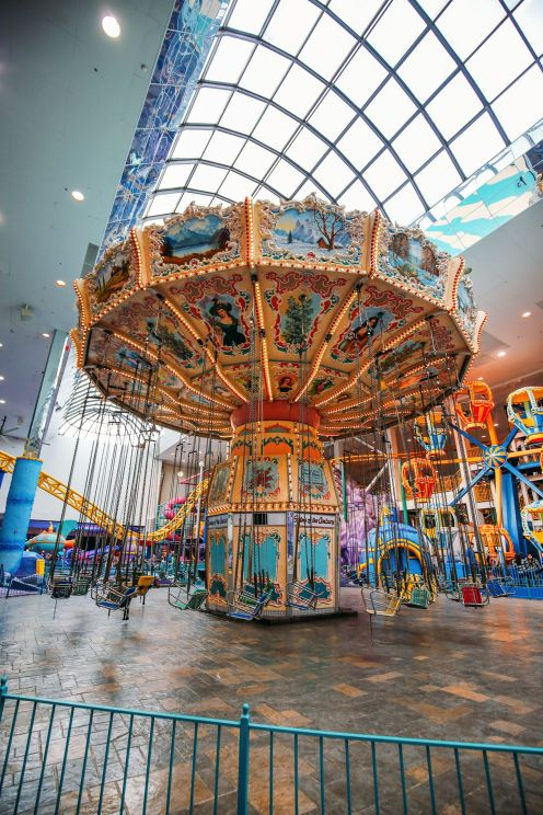 The World's Tallest Indoor Roller Coaster... In Edmonton, Canada (31)