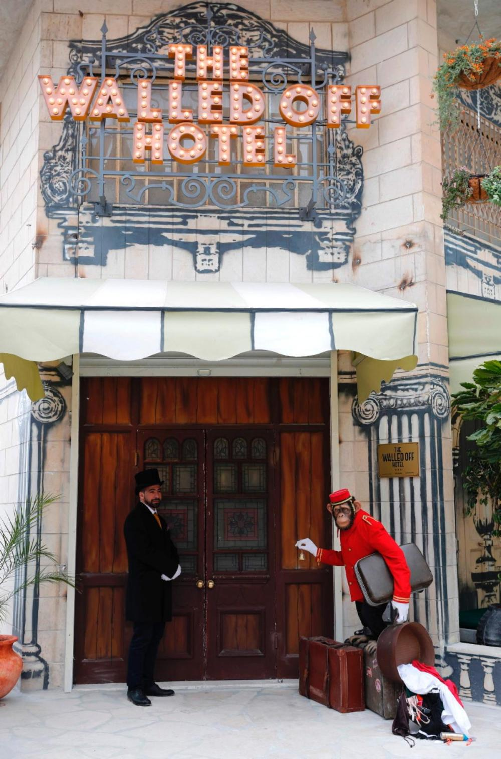 Here's How To Visit Banksy New And Unique Hotel, The Walled Off Hotel! (3)
