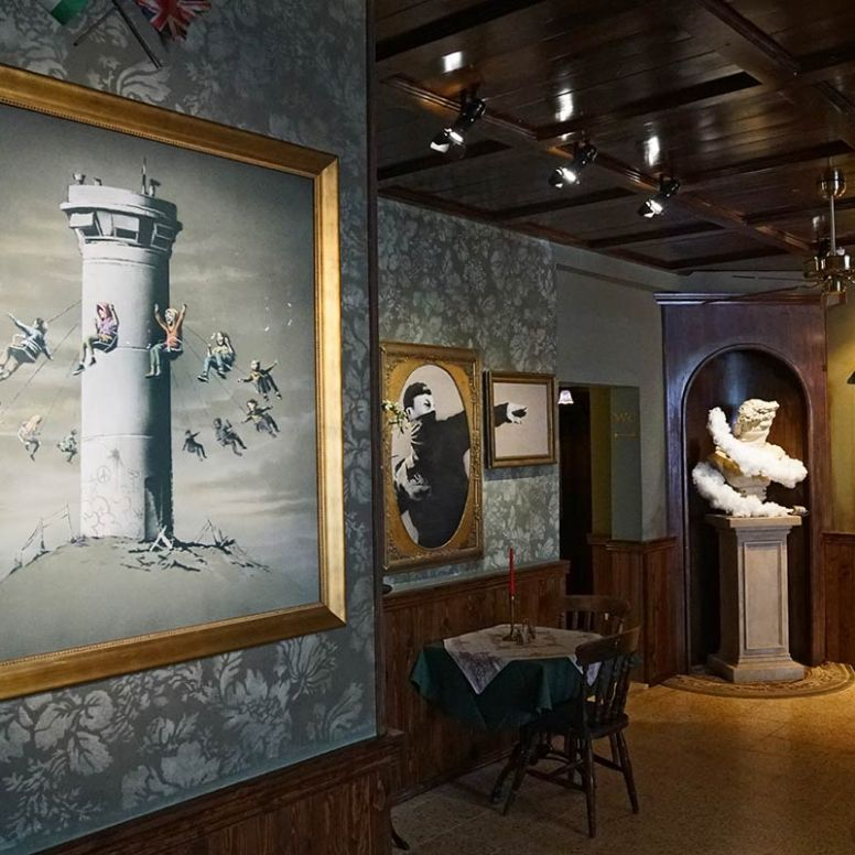 Here's How To Visit Banksy New And Unique Hotel, The Walled Off Hotel! (6)