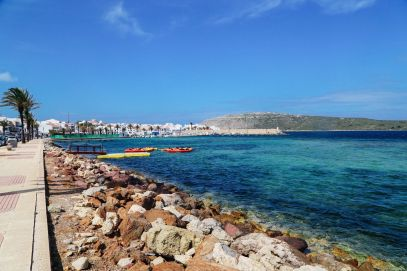The Dramatic And Jagged Shoreline Of Menorca, Spain (34)