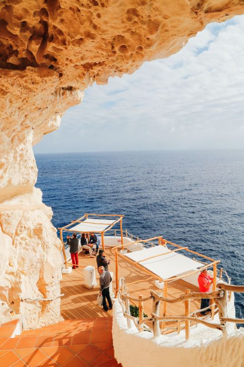 The Amazing Hidden Bar In The Caves Of Menorca, Spain (13)