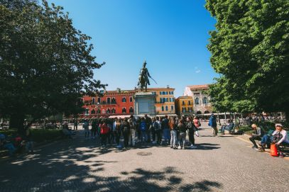 Arriving Into Fair Verona – The Italian Home Of Romeo And Juliet (22)
