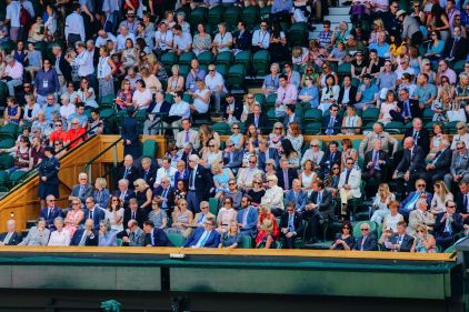 A DAY IN WIMBLEDON... || Watching Andy Murray, Rafael Nadal and Johanna Konta's Tennis Matches (5)