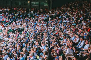 A DAY IN WIMBLEDON... || Watching Andy Murray, Rafael Nadal and Johanna Konta's Tennis Matches (13)