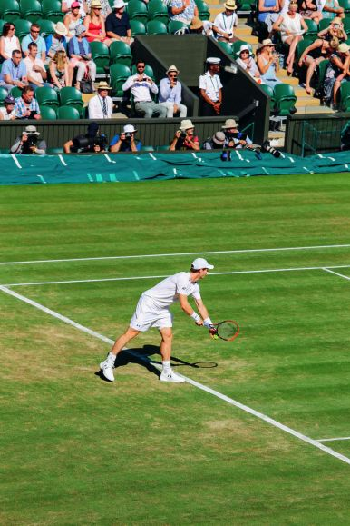A DAY IN WIMBLEDON... || Watching Andy Murray, Rafael Nadal and Johanna Konta's Tennis Matches (17)