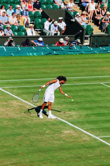 A DAY IN WIMBLEDON... || Watching Andy Murray, Rafael Nadal and Johanna Konta's Tennis Matches (20)