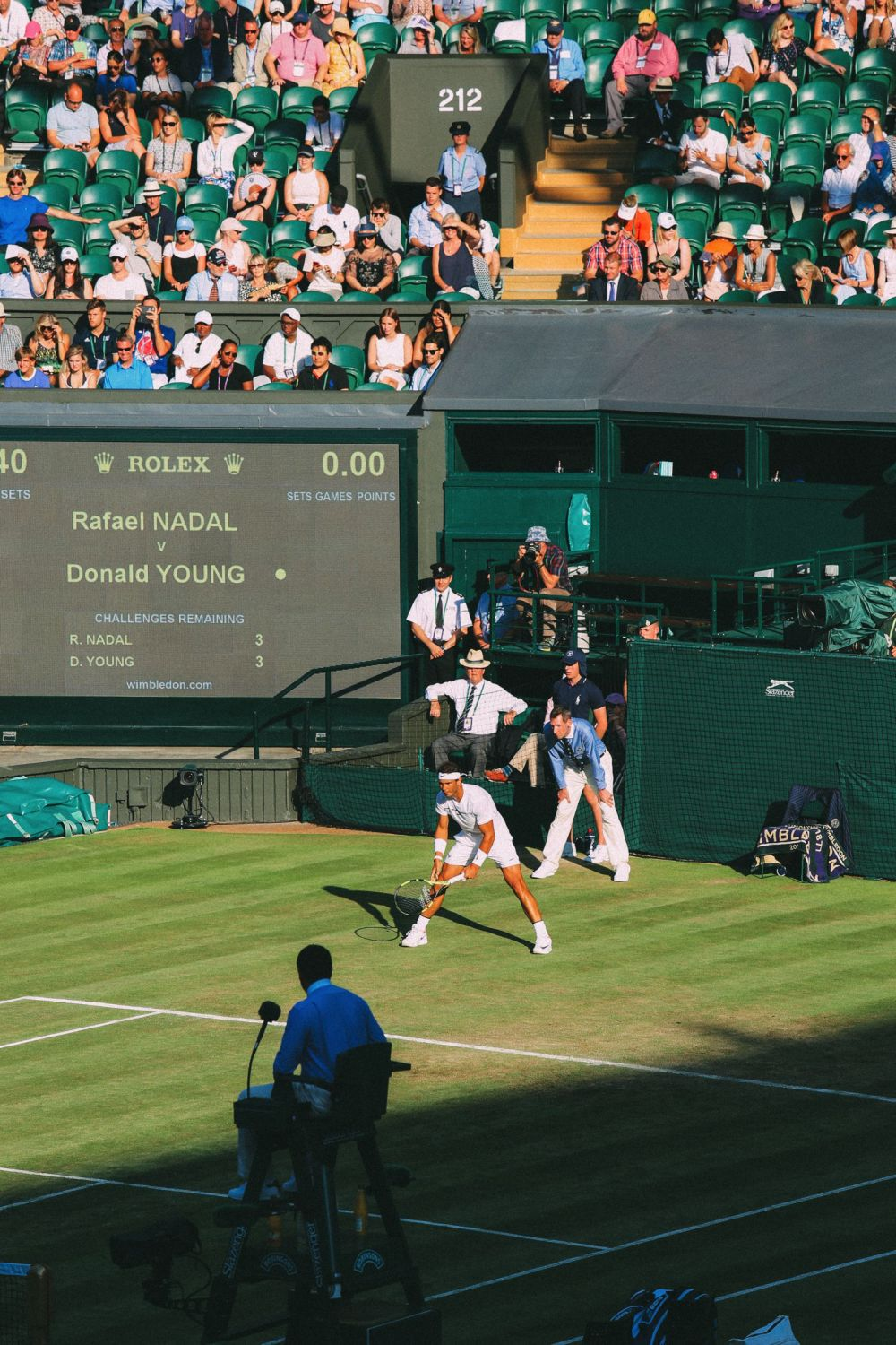 A DAY IN WIMBLEDON... || Watching Andy Murray, Rafael Nadal and Johanna Konta's Tennis Matches (33)