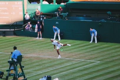 A DAY IN WIMBLEDON... || Watching Andy Murray, Rafael Nadal and Johanna Konta's Tennis Matches (37)
