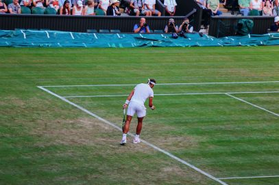 A DAY IN WIMBLEDON... || Watching Andy Murray, Rafael Nadal and Johanna Konta's Tennis Matches (39)