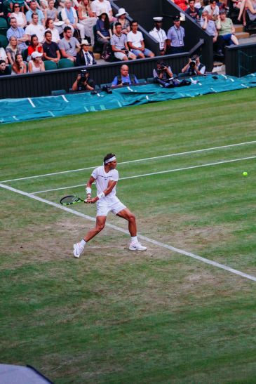 A DAY IN WIMBLEDON... || Watching Andy Murray, Rafael Nadal and Johanna Konta's Tennis Matches (46)