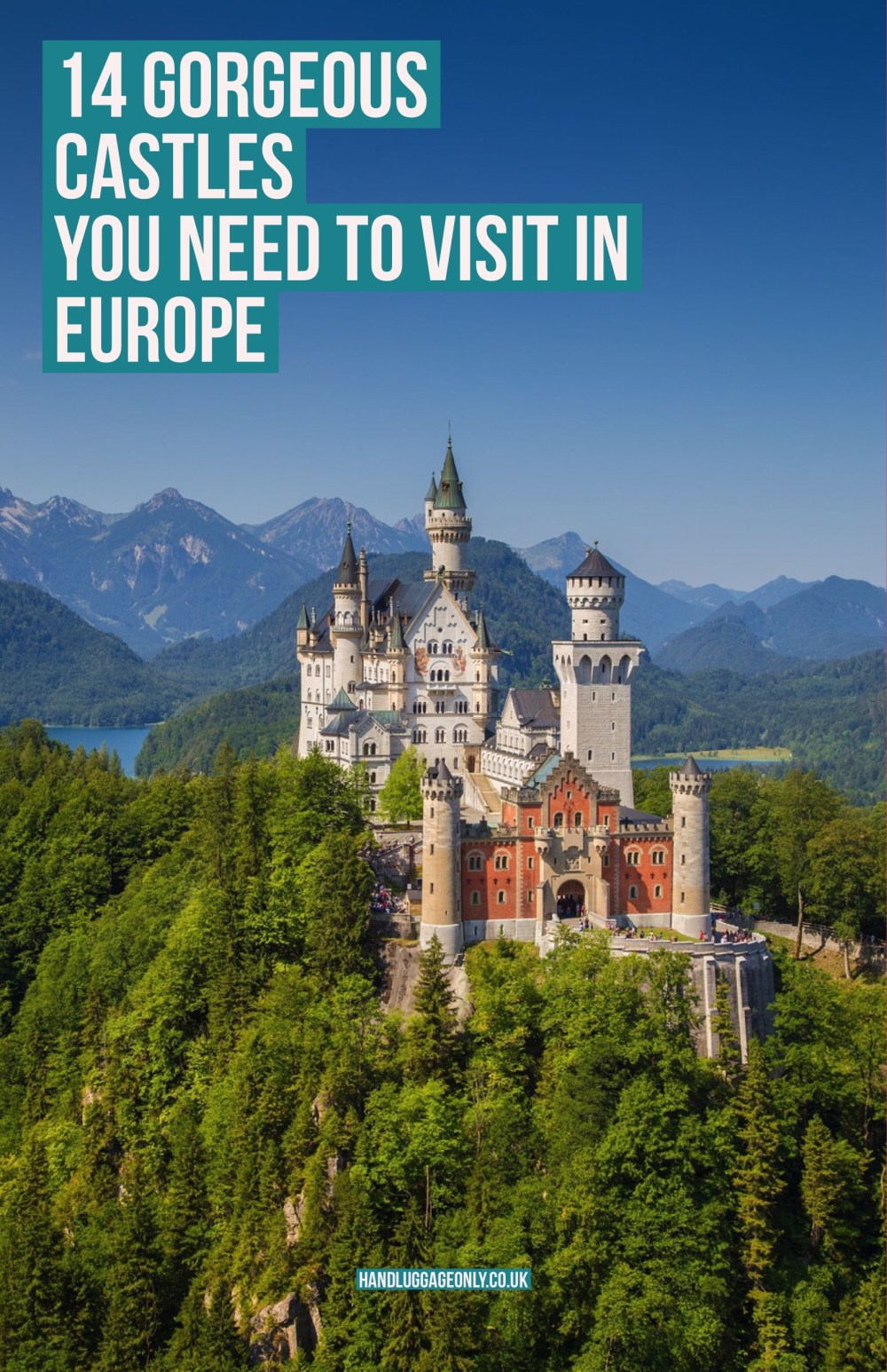 14 Gorgeous Castles You Must See In Europe 2018