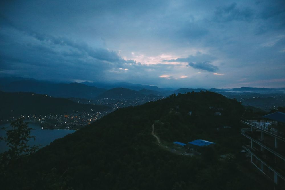 The Sunrise Over The Himalayas… In Pokhara, Nepal (1)
