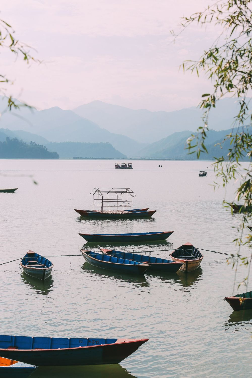 The Sunrise Over The Himalayas… In Pokhara, Nepal (29)