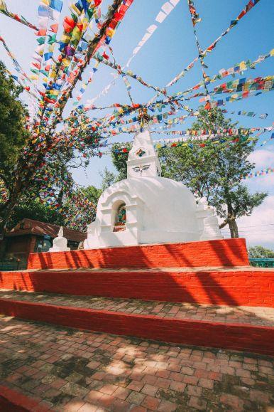 Exploring Swayambhunath Stupa - The Monkey Temple In Kathmandu, Nepal (4)