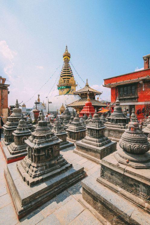 Exploring Swayambhunath Stupa - The Monkey Temple In Kathmandu, Nepal (6)