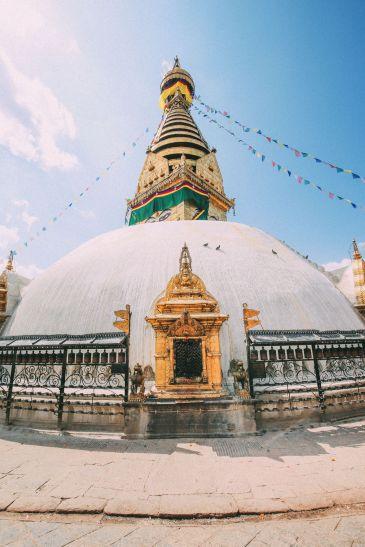 Exploring Swayambhunath Stupa - The Monkey Temple In Kathmandu, Nepal (19)