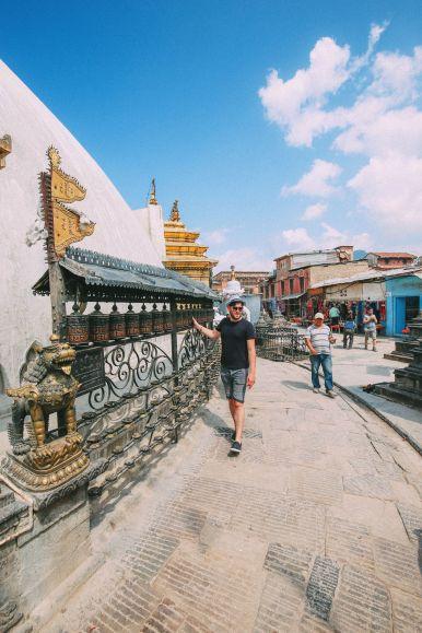 Exploring Swayambhunath Stupa - The Monkey Temple In Kathmandu, Nepal (23)