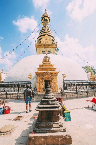 Exploring Swayambhunath Stupa - The Monkey Temple In Kathmandu, Nepal (31)
