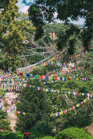 Exploring Swayambhunath Stupa - The Monkey Temple In Kathmandu, Nepal (41)