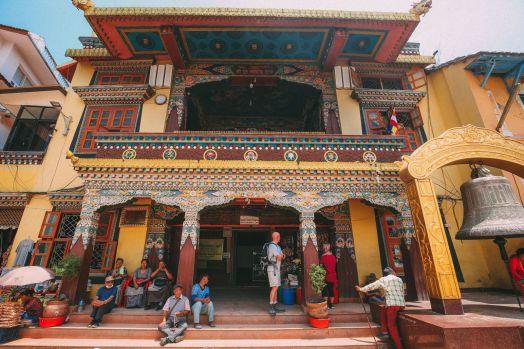 The UNESCO World Heritage Site Of Boudhanath Stupa In Kathmandu, Nepal (6)
