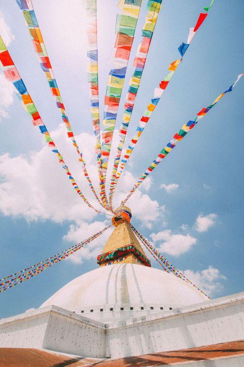 The UNESCO World Heritage Site Of Boudhanath Stupa In Kathmandu, Nepal (15)