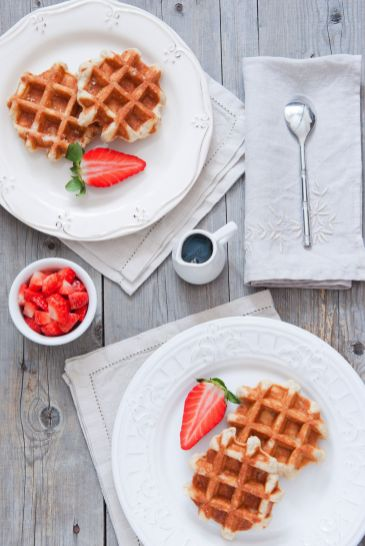 Belgian Waffles In Vancouver Canada