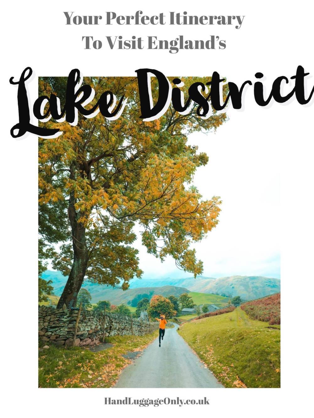 Lake District Itinerary