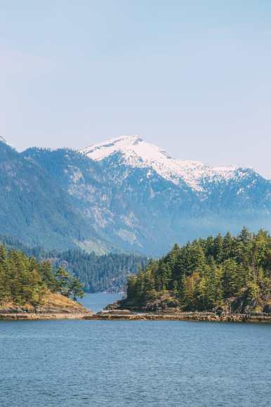 Driving The Sunshine Coast Of British Columbia Canada (2)