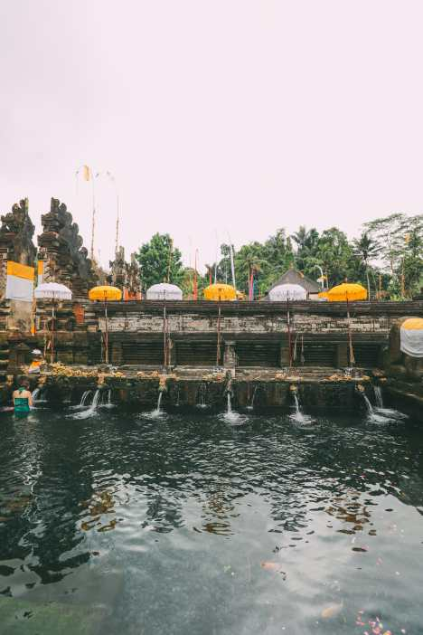 Finding A Secret Waterfall in Bali, Tirta Empul Temple And Mount Batur Volcano (5)