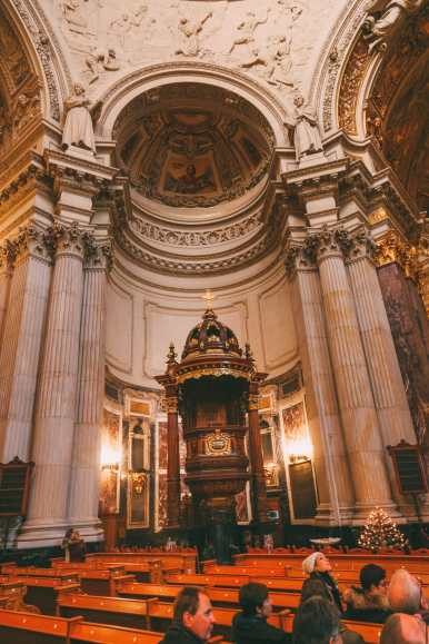 Visiting Charlottenburg Palace and The Berlin Cathedral… In Berlin, Germany (30)