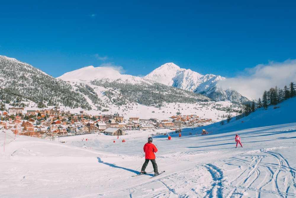 Skiing In Montgenevre, France (8)