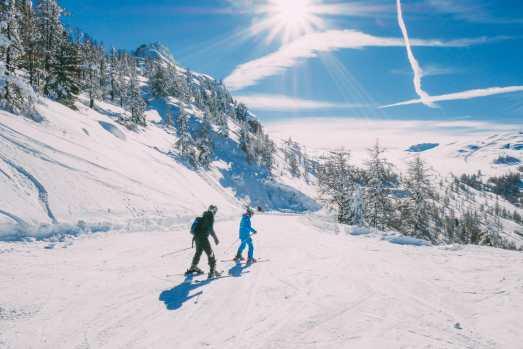 Skiing In Montgenevre, France (30)