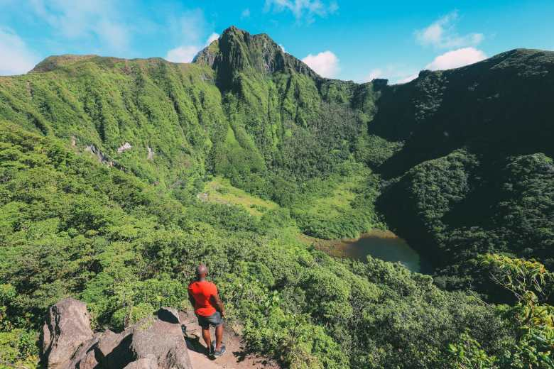 Hiking To The Top Of A Volcano... In the Caribbean! (18)